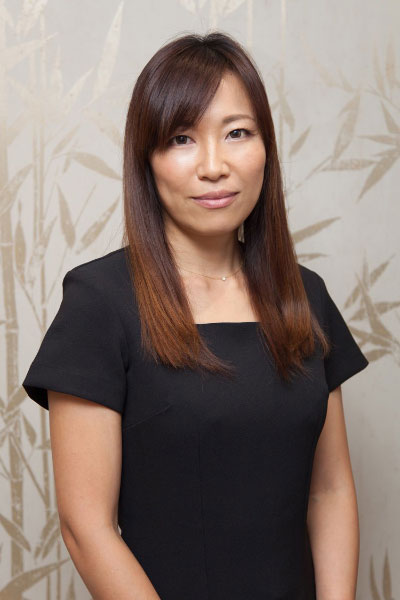 Aya - Japanese Face Massage specialist at Hiro Miyoshi at The Ritz