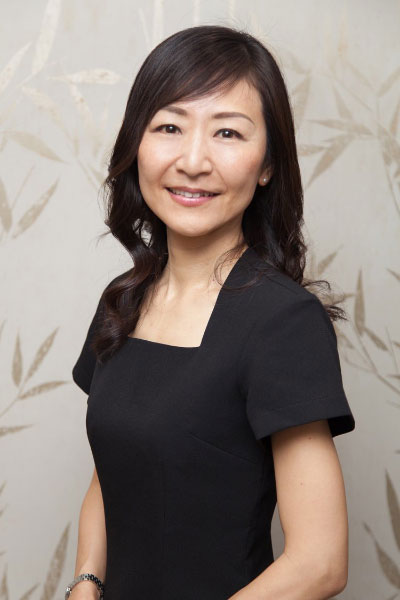 Tomoko - acupuncture therapist at Hiro Miyoshi at The Ritz