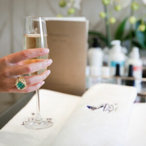 Champaign Manicure at The Ritz London