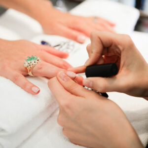 Manicure at Hiro Miyoshi at The Ritz