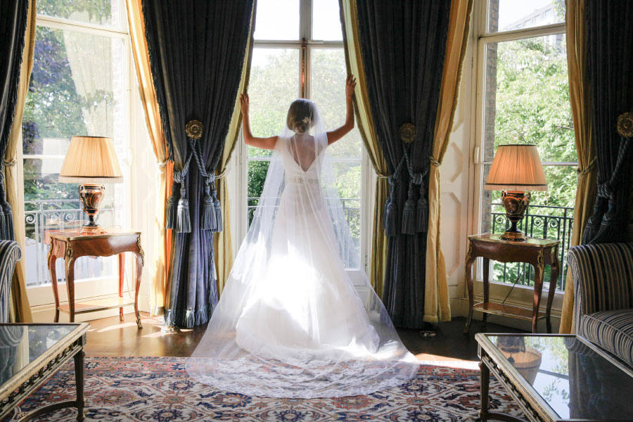 Beautiful bride at The Ritz London