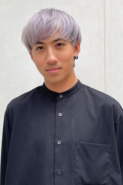 Tatsuya - make up artist and hairdressing trainee